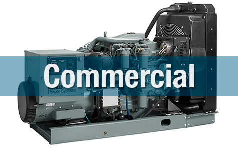 KOHLER Power commercial generators